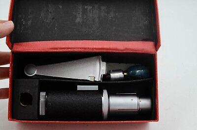 Leitz Wetzlar Leica Synchroblitzer Bulb Fan Flash Unit with Original Box