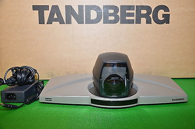 Tandberg 550 Mxp Video Conferencing Camera Ttc7-13 Npp F9.3 With Remote Ac Power