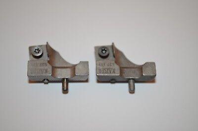 Wendepattenhalter-Paar  Kaiser SWISS MADE  Typ RW25 637.121  Ø25-33mm RHV10933