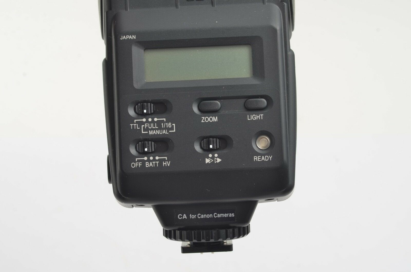 EXC SUNPAK 4000AF FOR CANON AF FLASH, NEOPRENE CASE, TESTED CLEAN - $27.95