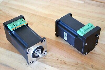 Nanotec Pd4-c Nema23 Stepper Motor 500oz-in W Built-in Driver Encoder -cnc Diy
