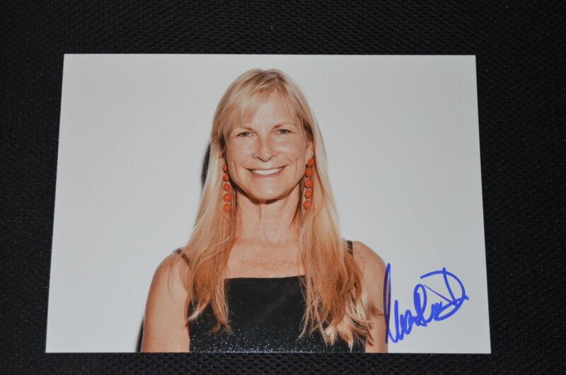 MARTHA DE LAURENTIIS signed Autogramm 18x25 cm In Person HANNIBAL