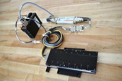 Parker Mx80l 150mm Linear Servo Motor Actuator Stage 0.01um Encoder W Vix250ih