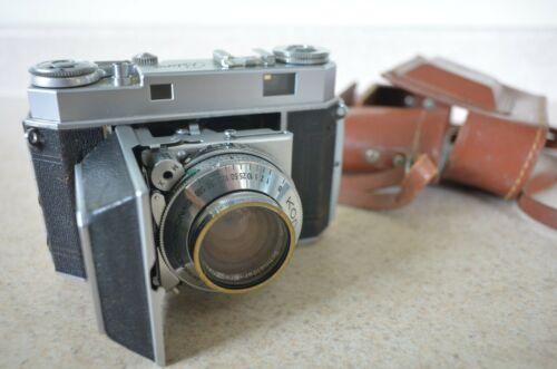 35 mmCamera Kodak Retina II vintage with case  schneider ktreuznach F2 lens 50mm