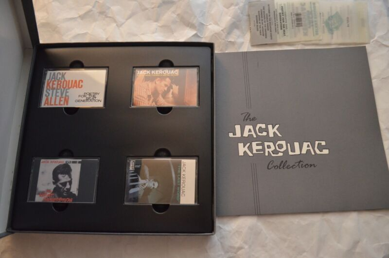 The Jack Kerouac Collection 4 Cassette Edition Deluxe Box Set Complete Works