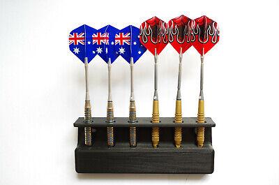 Dartpfeil Wandhalterung für 6 Steeldarts oder E-Darts