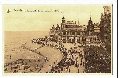 CPA-Carte postale-BELGIQUE-Oostende-Le Kursaal et les terrasses