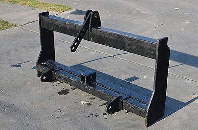 Bobcat Skid Steer Attachment - 3 Point Hitch Tractor Adapter Mount - Ship 149