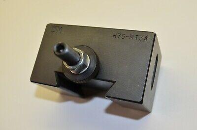 Dtm H75-mt3a Bxa 3 Morse Taper Quick Change Tool Holder