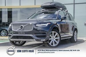 2016 Volvo XC90 T6 AWD INSCRIPTION*CARGO BOX*HITCH* WINTER KIT*C