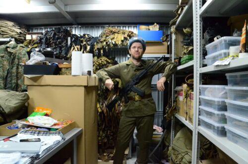 50/4, Authentic Soviet Russian Army summer sand uniform M69 suit