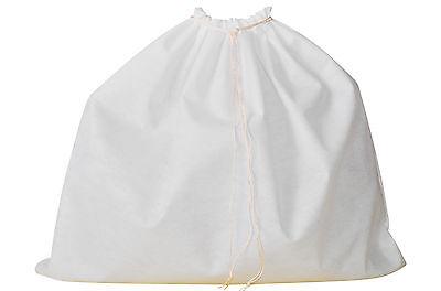 Dust Bag for Leather Handbags, Shoes, Belts, Gloves, Acc., 10 Sizes, Drawstring  Shoes Belt Bag