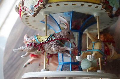 GROßE ENESCO ohne Spieluhr  Karusell  löwe hase schwein gans