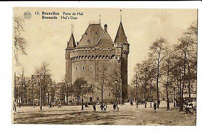 CPA-Carte postale-BELGIQUE - Bruxelles - Porte de Hal-  S3128