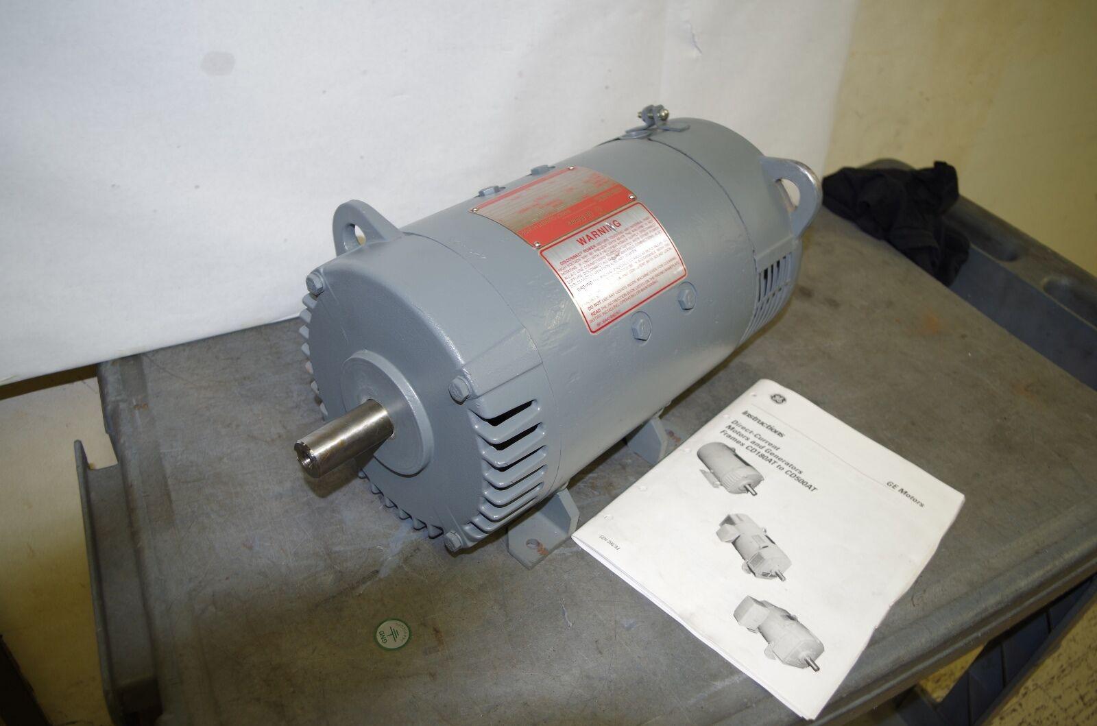General Electric Kinamatic 5hp Dc Motor 5cd144fa002b016