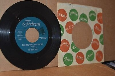THE KING PINS: THE MONKEY ONE MORE TIME & WITH THE OTHER GUY; FEDERAL MINT- 45