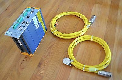 New Parker Compax3 S025v2f10i20t30 Servo Motor Drive Controller With Cables -cnc