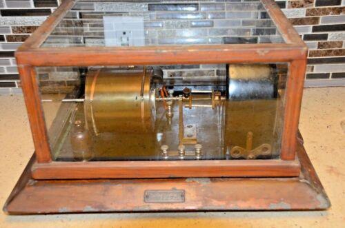 Antique  RARE  Henry J. Green Anemometer RecorderScientific Instrument 19 C.