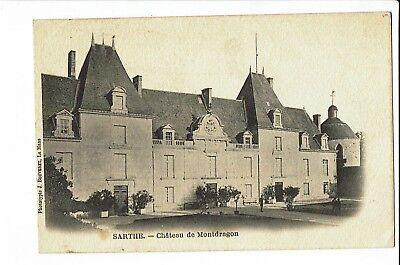 CPA-Carte postale-  France -Montdragon - Son Château -  S1902