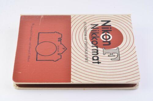 EXC++ NIKON F NIKKORMAT HANDBOOK OF PHOTOGRAPHY COMPLETE BINDER COOPER/ABBOTT