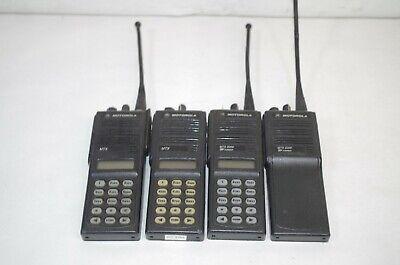 Lot Of 4 Motorola Two Way Radios As Is Untested Mts2000 Mtx