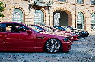 BMW E46 M3 FRONT FENDERS (overfenders, not felony form / drift) BY MUSK CUSTOMS for sale  Shipping to Ireland
