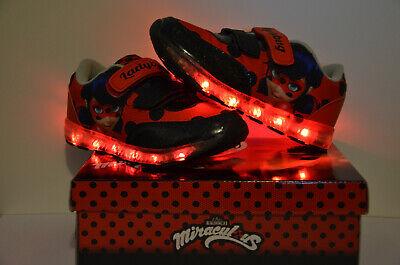 Sehr schöne mit LED Licht Ladybug Marienkäfer Mädchen - Marienkäfer Kind Schuhe