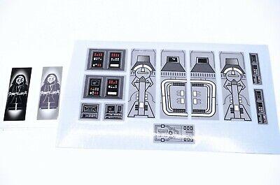 Custom Replacement Lego Star Wars Imperial Star Destroyer 6211 Stickers Decals segunda mano  Embacar hacia Argentina