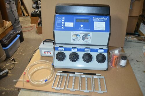 ImageMax Dental X-ray Developer with Air Pump & Accessories