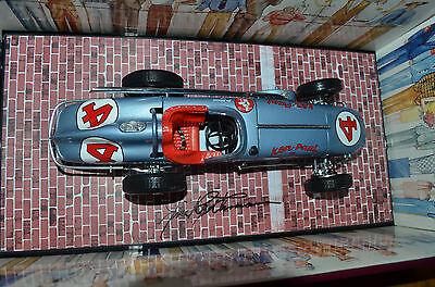 Jim Rathmann 2x Autographed 4402 Carousel 1/18 1960 Indy 500 Watson Ken Paul R