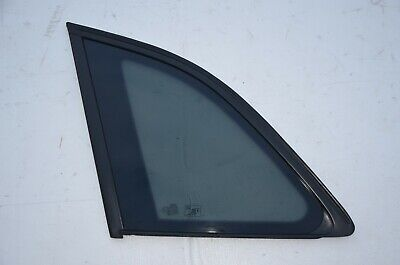 2009-2017 AUDI Q5 REAR LEFT SIDE QUARTER GLASS WINDOW BLACK MOLDING OEM