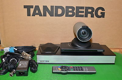Tandberg Edge 95 Mxp Video Conf. Hd Camera F8.x Cisco Ttc7-14 Msnpp Ttc8-01