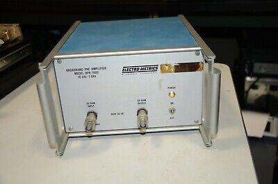 Electro-metrics Emco Bpa-1000 1 Ghz 26 Db Broadband Antenna Pre Amplifier Emi