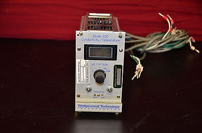 Wedgewood Technology Model 620 Conductivity Temperature Meter W Wiring Cable