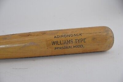 "Vintage ADIRONDACK Ted Williams Model #302S Baseball Bat 33"" Great Condition!"