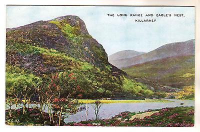 Long Range And Eagle's Nest - Killarney Photo Postcard c1930s
