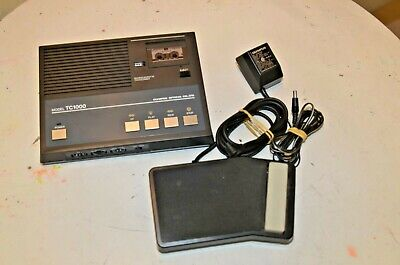 Olympus Tc1000 Microcassette Transcriber Wfoot Pedal