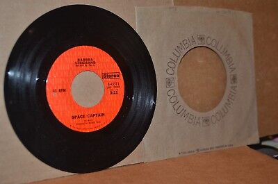 BARBRA STREISAND SPACE CAPTAIN & ONE LESS BELL TO ANSWER/HOUSE IS NOT A HOME 45