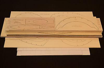 Giant 1/5 Scale GRUMMAN F8F BEARCAT Laser Cut Short Kit & Plans 85 in. WS