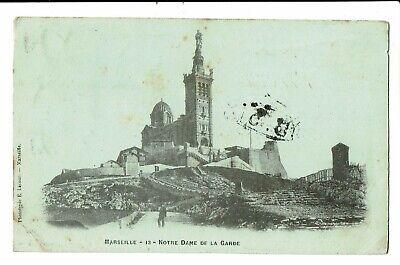 CPA-Carte postale-FRANCE Marseille- Notre Dame de la Garde -1902  VM2319