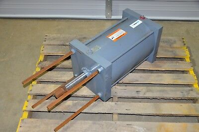 Miller A53b2n Pneumatic Cylinder 12 Bore 6 Ws Stroke 1-38 Rod Dia 250psi