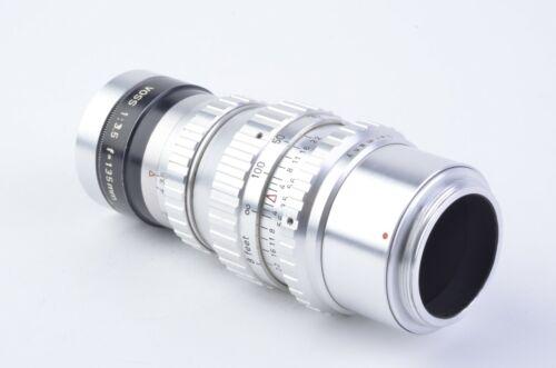 EXC++ VOSS PIESKER 135mm 3.5 M42 MOUNT PORTRAIT LENS, SHARP!