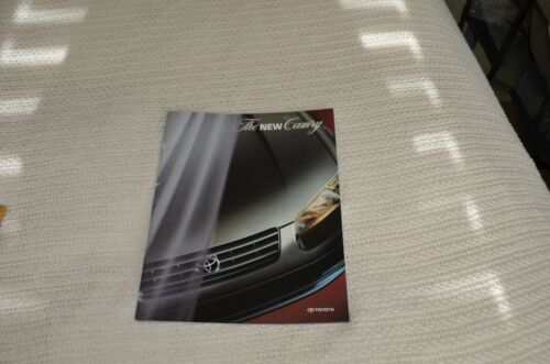 Toyota Camry 1997 Car and Automotive Literature Catalogs