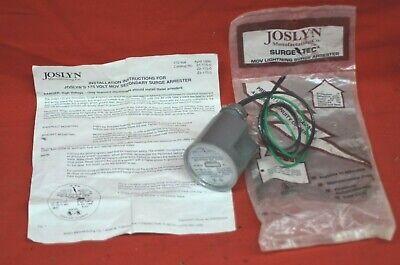 Joslyn Surge-tec Mov Secondary Surge Protector Z1-175 175v Lightning Arrester