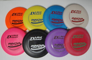 Innova Mini Driver Disc Golf Lot of 4