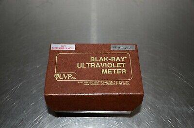 Blak-ray Ultra Violet Meter Model J-225 Short Wave Uv Meter