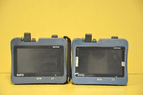 Pair Exfo MAX-945-SM4-EA 1310/1490/1550 MaxTester OLTS + PM-MAX-2X-VFL W/ Cases