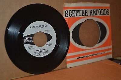 LEN BARRY PUT OUT THE FIRE & SPREAD IT ON LIKE BUTTER MINT- NORTHERN SOUL WLP 45