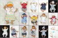 Baby Pagliaccetto Attrezzature Di Base Tutina Giocatore 50 56 62 68 74 80 -  - ebay.it