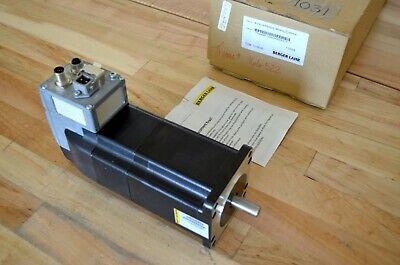 New Berger Lahr Ifs92 3-phase Stepper Motor W Built-in Driver Encoder Brake